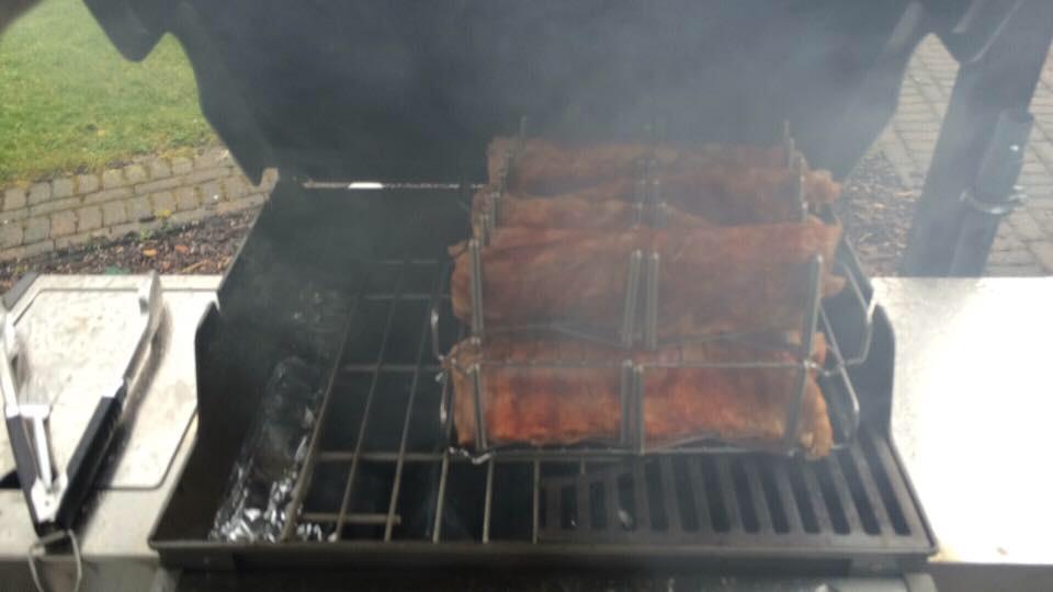Spareribs Gasgrill 3 2 1 : Spare ribs u2013 auf dem gasgrill 3 2 1 4 1 1 bbq rezept : onkeloki